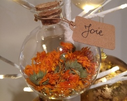 Boule Porte-bonheur - Calendula - Joie