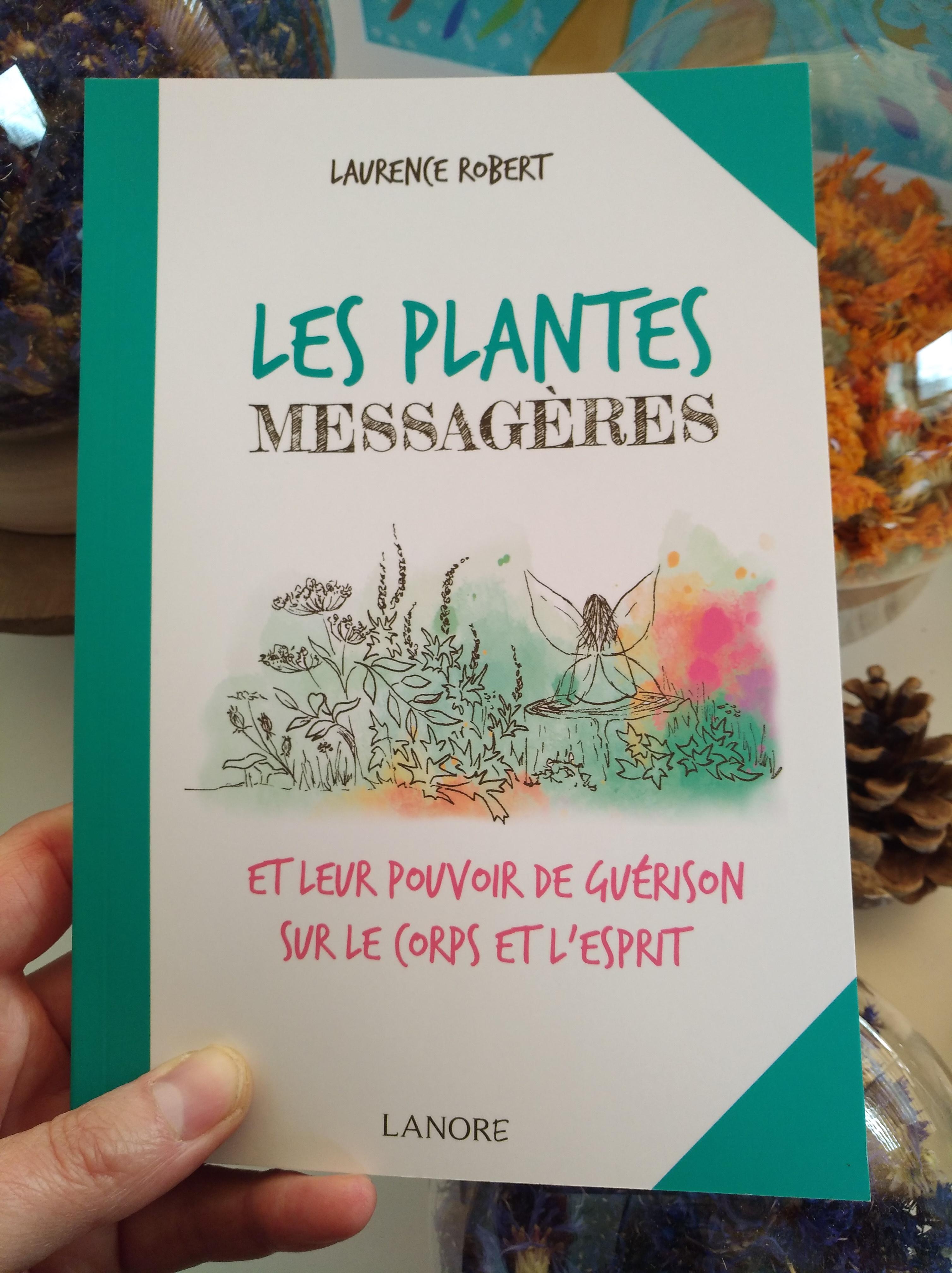 """Le livre """"Les plantes messagères"""" est disponible !"""